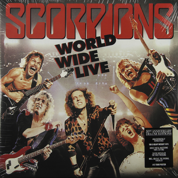 Scorpions Scorpions - World Wide Live (50th Anniversary Deluxe Edition)