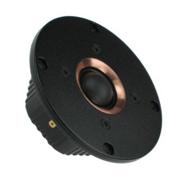 Динамик ВЧ SEASДинамик ВЧ<br>Диаметр 110,4 мм, полоса пропускания 2000 - 25000 Гц, резонансная частота 500 Гц, мощность 90 Вт, чувствительность 88 дБ, сопротивление 6 Ом.<br>