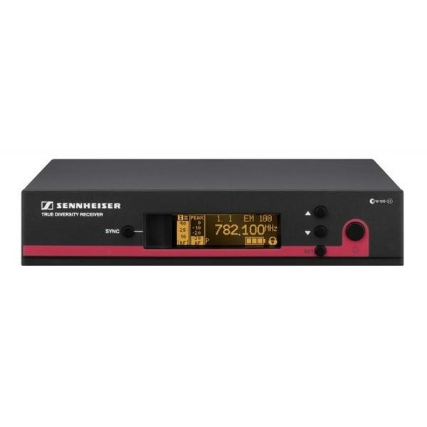 Приемник для радиосистемы SennheiserПриемник для радиосистемы<br>Новый прочный рэковый приёмник с расширенными функциями и надёжным приёмом готов к любым, самым жёстким условиям эксплуатации<br>