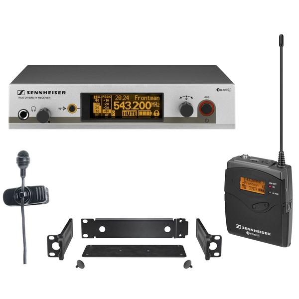 Радиосистема Sennheiser EW 322 G3-B-X радиосистема sennheiser ew 100 945 g3 b x