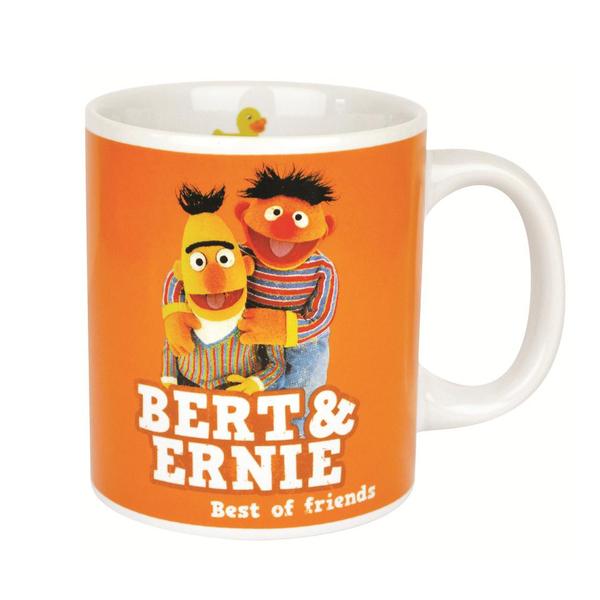 Кружка Sesame Street - Bert   ErnieКружка<br>Объём 350 мл, высота 9,5 см, диаметр 8 см, керамика.<br>
