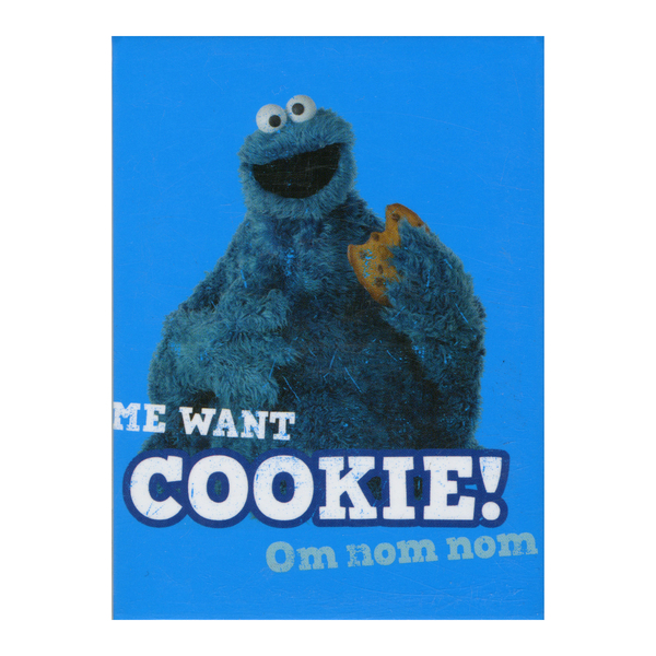 Магнит Sesame Street - Cookie Monster