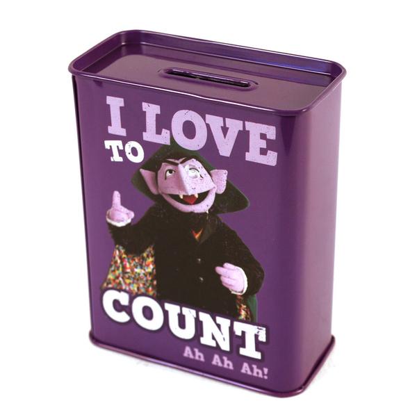 Копилка Sesame Street - Count от Audiomania