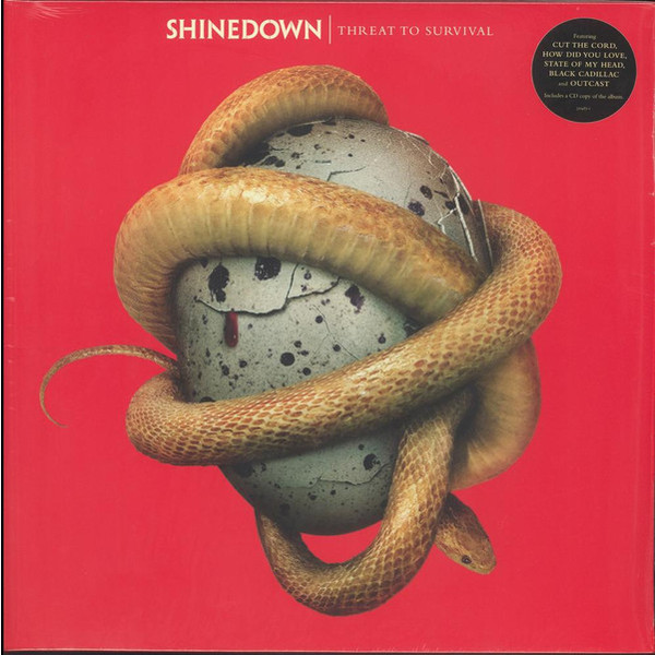 Shinedown Shinedown - Threat To Survival (lp+cd) partners lp cd