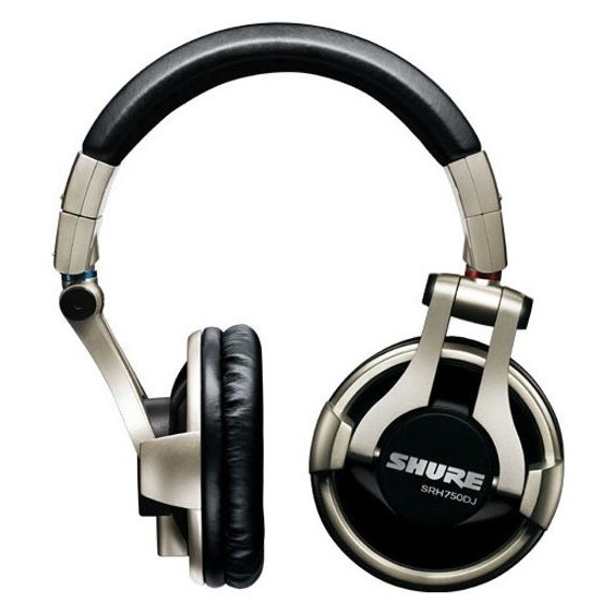 все цены на Охватывающие наушники Shure SRH750DJ Silver/Black онлайн