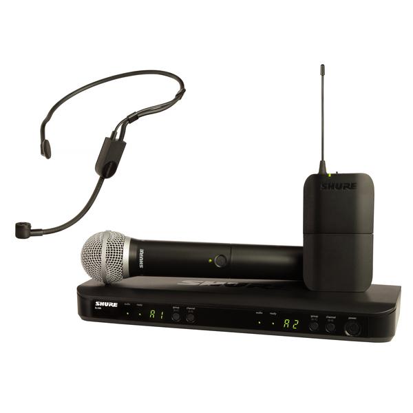 купить Радиосистема Shure BLX1288E/P31 M17 недорого