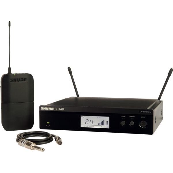 Радиосистема Shure BLX14RE M17 приёмник и передатчик для радиосистемы akg dsr700 v2 bd1