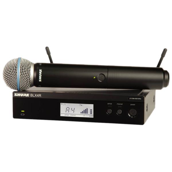 Радиосистема Shure BLX24RE/B58 M17 приёмник и передатчик для радиосистемы akg dsr700 v2 bd1