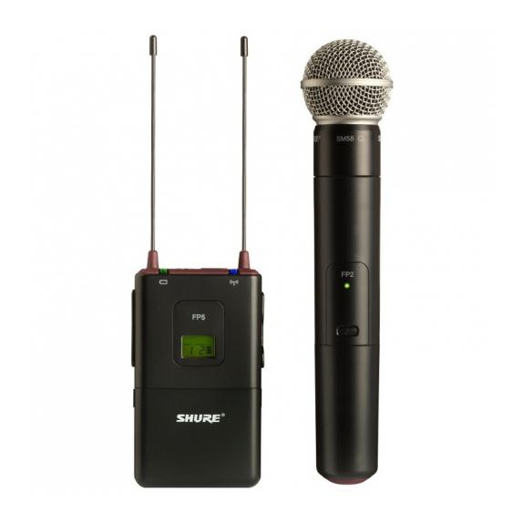 все цены на Радиосистема Shure FP25/SM58 L4E 638 - 662 MHz онлайн