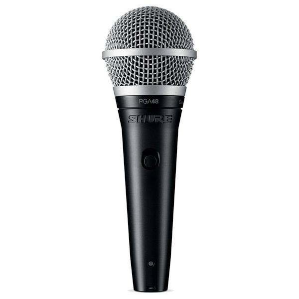 Вокальный микрофон Shure PGA48-XLR-E вокальный микрофон shure pga58 qtr e