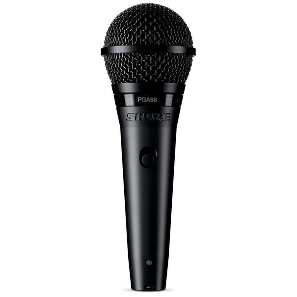 Вокальный микрофон Shure PGA58-XLR-E вокальный микрофон shure pga58 qtr e