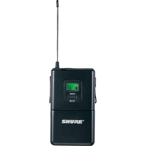 Передатчик для радиосистемы Shure SLX1 P4 shure slx1 l4e a041837 портативный поясной передатчик black