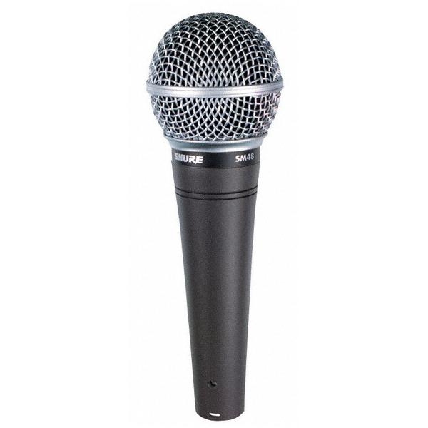 Вокальный микрофон Shure SM48-LC вокальный вечер