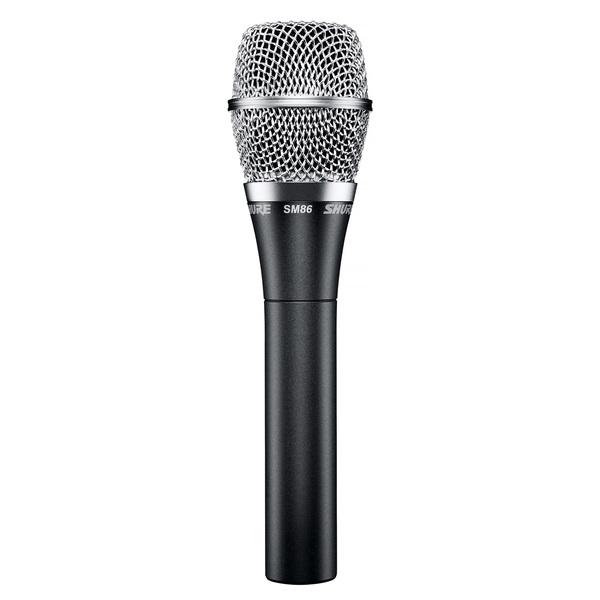Вокальный микрофон Shure SM86 shure sm86 кардиоидный конденсаторный вокальный микрофон black