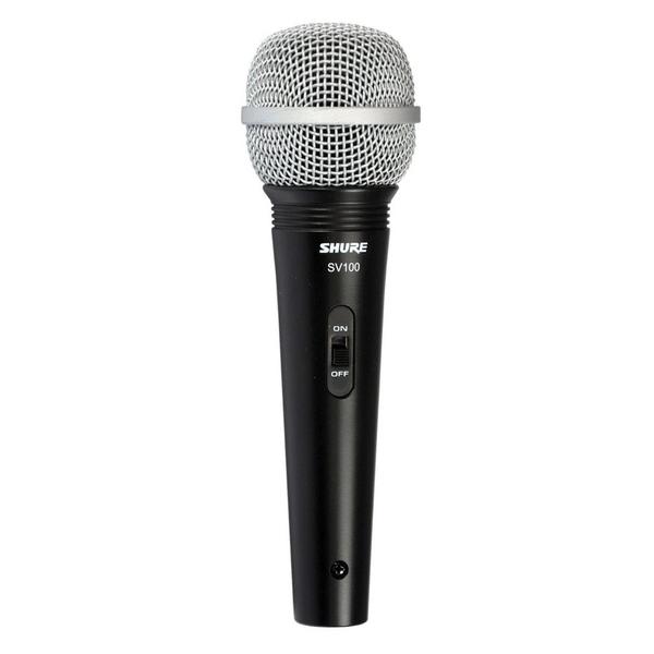 Вокальный микрофон Shure SV100-A цена и фото