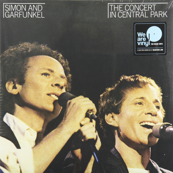 Simon   Garfunkel Simon   Garfunkel - The Concert In Central Park (2 LP) cd диск simon paul original album classics paul simon songs from capeman hearts and bones you re the one there goes rhymin simon 5 cd
