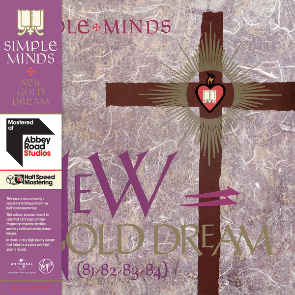 Simple Minds Simple Minds - New Gold Dream (81-82-83-84) (half Speed Vinyl) simple minds simple minds once upon a time 5 cd dvd