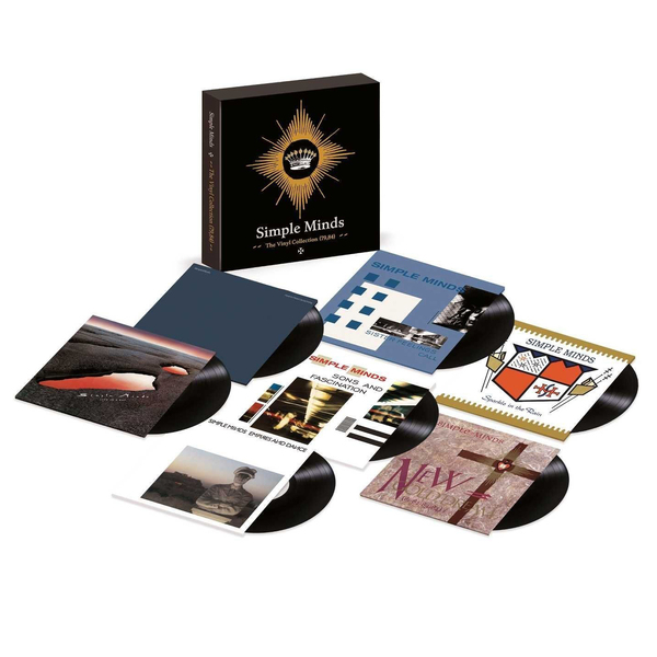 Simple Minds Simple Minds - The Vinyl Collection 1979 -1985 (7 Lp Box) simple minds simple minds once upon a time 5 cd dvd