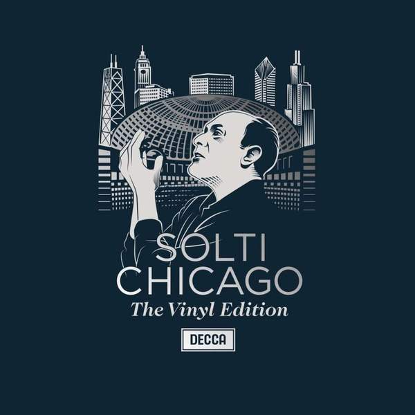 Sir Georg Solti Sir Georg Solti - The Chicago Years (6 LP) sir andrew davis williams the symphonies 6 cd