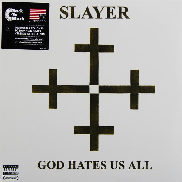 SLAYER SLAYER - GOD HATES US ALL (180 GR)