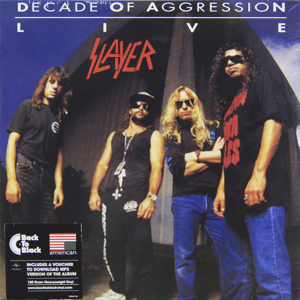 Slayer Slayer - Live: Decade Of Aggression (2 Lp, 180 Gr)