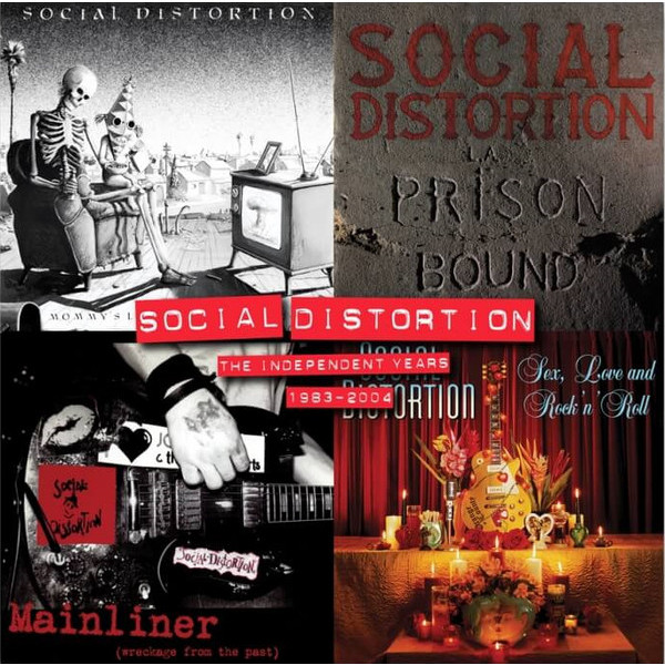 Social Distortion Social Distortion - Independent Years (4 LP) social housing in glasgow volume 2