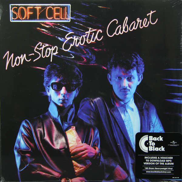 SOFT CELL SOFT CELL - NON-STOP EROTIC CABARET (180 GR)  андрей кучаев трах non stop