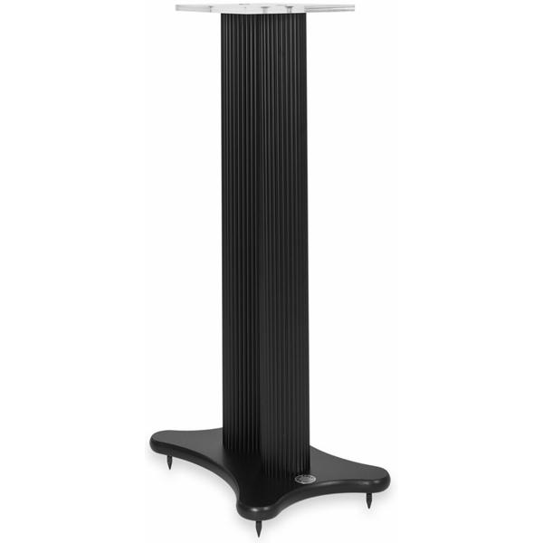 Стойка для акустики Solid Tech Radius Speaker 720 Black стойка для акустики waterfall подставка под акустику shelf stands hurricane black