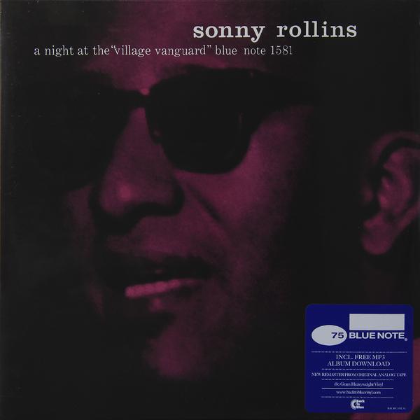 Sonny Rollins Sonny Rollins - A Night At The Village Vanguard (180 Gr) sonny rollins saxophone colossus