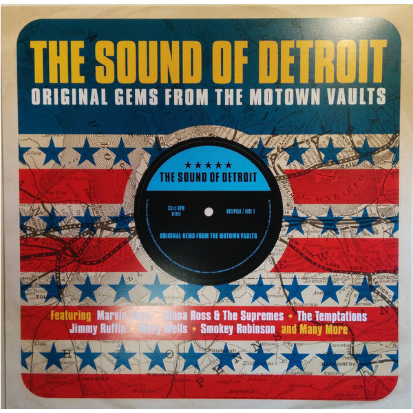 Various Artists Various Artists - Sound Of Detroit (original Gems From The Motown Vaults) various artists various artists motown funk 2 lp