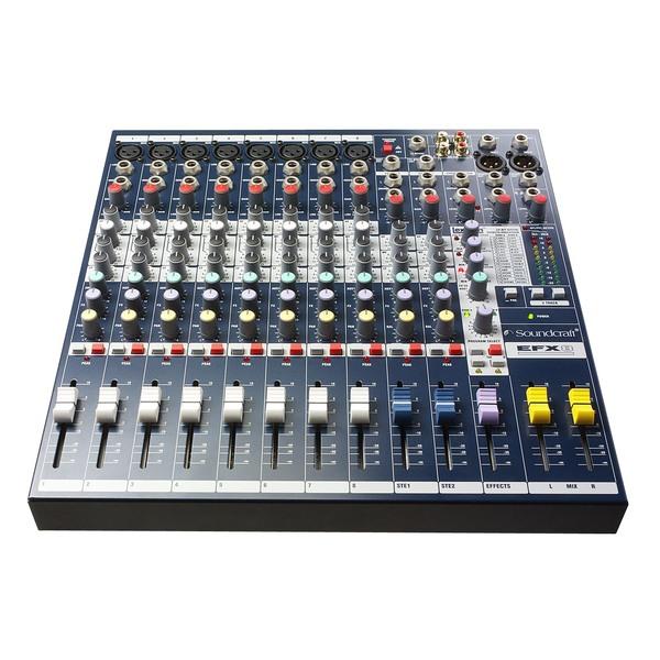 Аналоговый микшерный пульт Soundcraft EFX8 аналоговый микшер soundcraft efx8