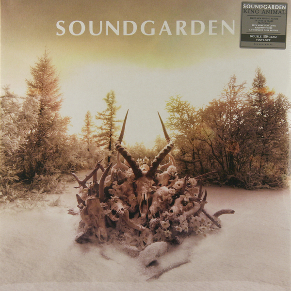 Soundgarden Soundgarden - King Animal (2 Lp, 180 Gr) soundgarden soundgarden king animal 2 lp 180 gr