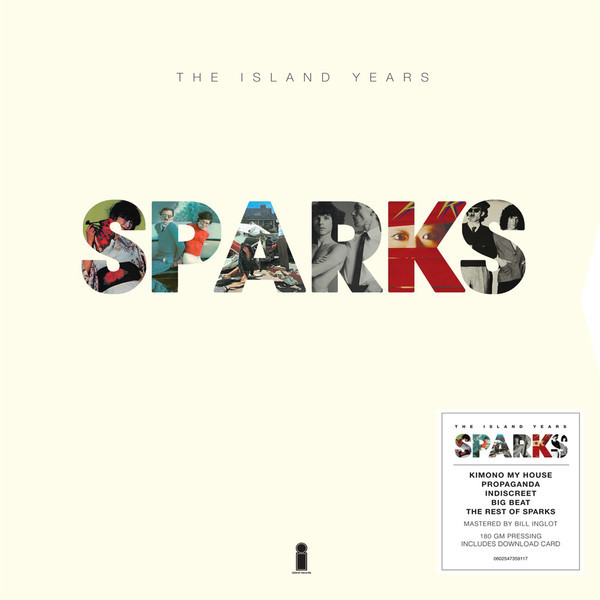 SPARKS SPARKS - THE ISLAND YEARS (5 LP BOX)
