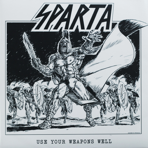 SPARTA SPARTA-USE YOUR WEAPONS WELL (2 LP)Виниловая пластинка<br><br>