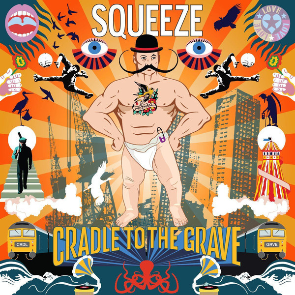SQUEEZE SQUEEZE - FROM THE CRADLE TO THE GRAVE (2 LP) grave