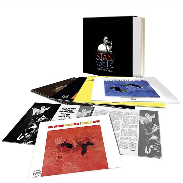 Stan Getz Stan Getz - Bossa Nova Years (5 LP) hundai getz в белвруси