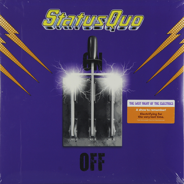 Status Quo Status Quo - Last Night Of The Electrics (3 LP) потолочная люстра odeon kabris 2934 8c