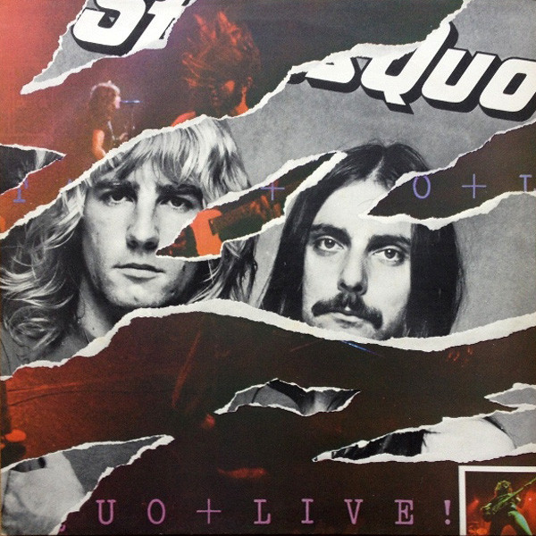 Status Quo Status Quo - Live (2 LP) status quo status quo accept no substitute the definitive hits