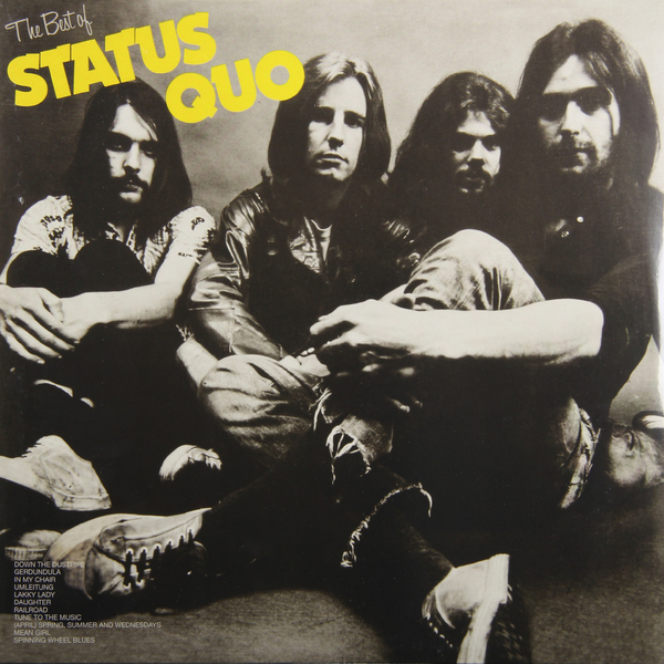 STATUS QUO STATUS QUO - THE BEST OF status quo status quo original albums 4 cd