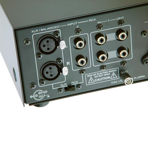 Ламповый усилитель для наушников Stax от Audiomania