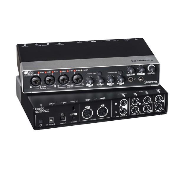 цены  Внешняя студийная звуковая карта Steinberg UR44