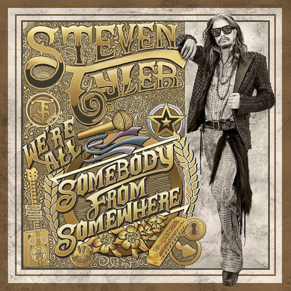 Steven Tyler Steven Tyler - We're All Somebody From Somewhere (2 LP) loac essentials presents king features volume 2 tim tyler s luck 1933