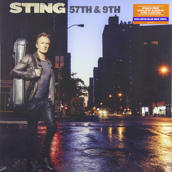 STING STING - 57th   9th (180 Gr, Color) guano apes guano apes proud like a god 180 gr colour