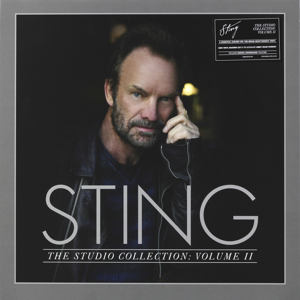 STING STING - The Studio Collection Vol.2 (5 LP) powers the definitive hardcover collection vol 7