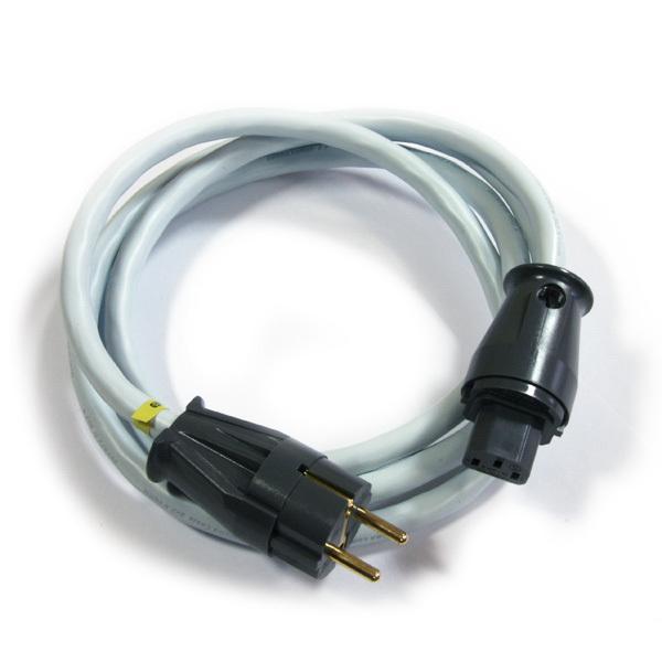 Кабель сетевой готовый SupraКабель сетевой готовый<br>Сетевой экранированный кабель (250 В, 16 A), 3 x 2.5 мм проводника из луженой меди, длина 1 метр<br>