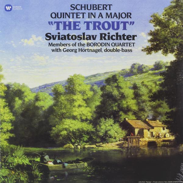 SCHUBERT SVIATOSLAV RICHTER - SCHUBERT: PIANO QUINTET THE TROUT richter 12224255111 28