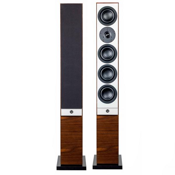 Напольная акустика System Audio Mantra 50 Walnut акустика центрального канала audio physic classic center walnut