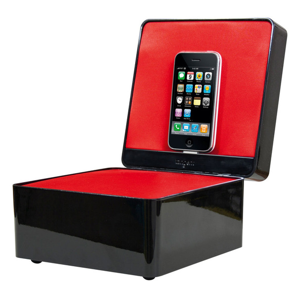 Док-станция для iPod Tangent Pearl Box High Gloss Black (уценённый товар)