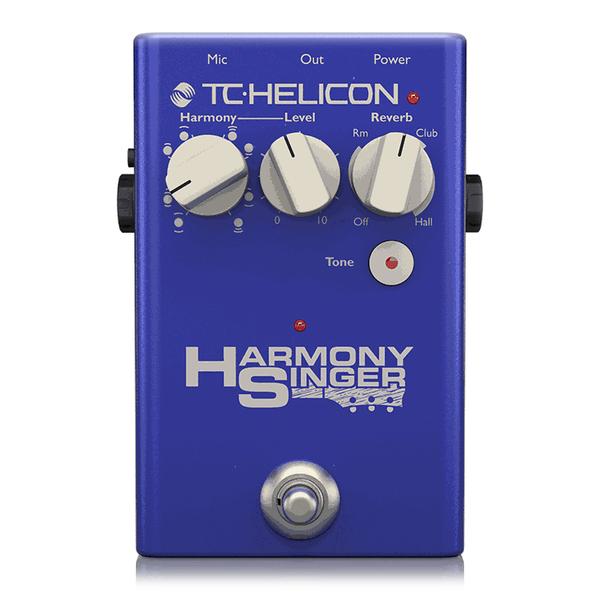 Вокальный процессор TC-Helicon Harmony Singer 2 вокальный процессор tc helicon voice tone h1