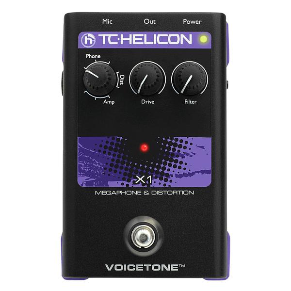 Вокальный процессор TC-Helicon VoiceTone X1 вокальный процессор roland vp 03